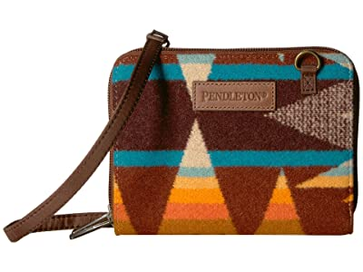 Pendleton Wallet on a Strap (Crescent Butte) Cross Body Handbags
