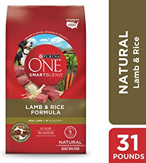 Purina ONE SmartBlend Natural Lamb Formula Adult Dry Dog Food