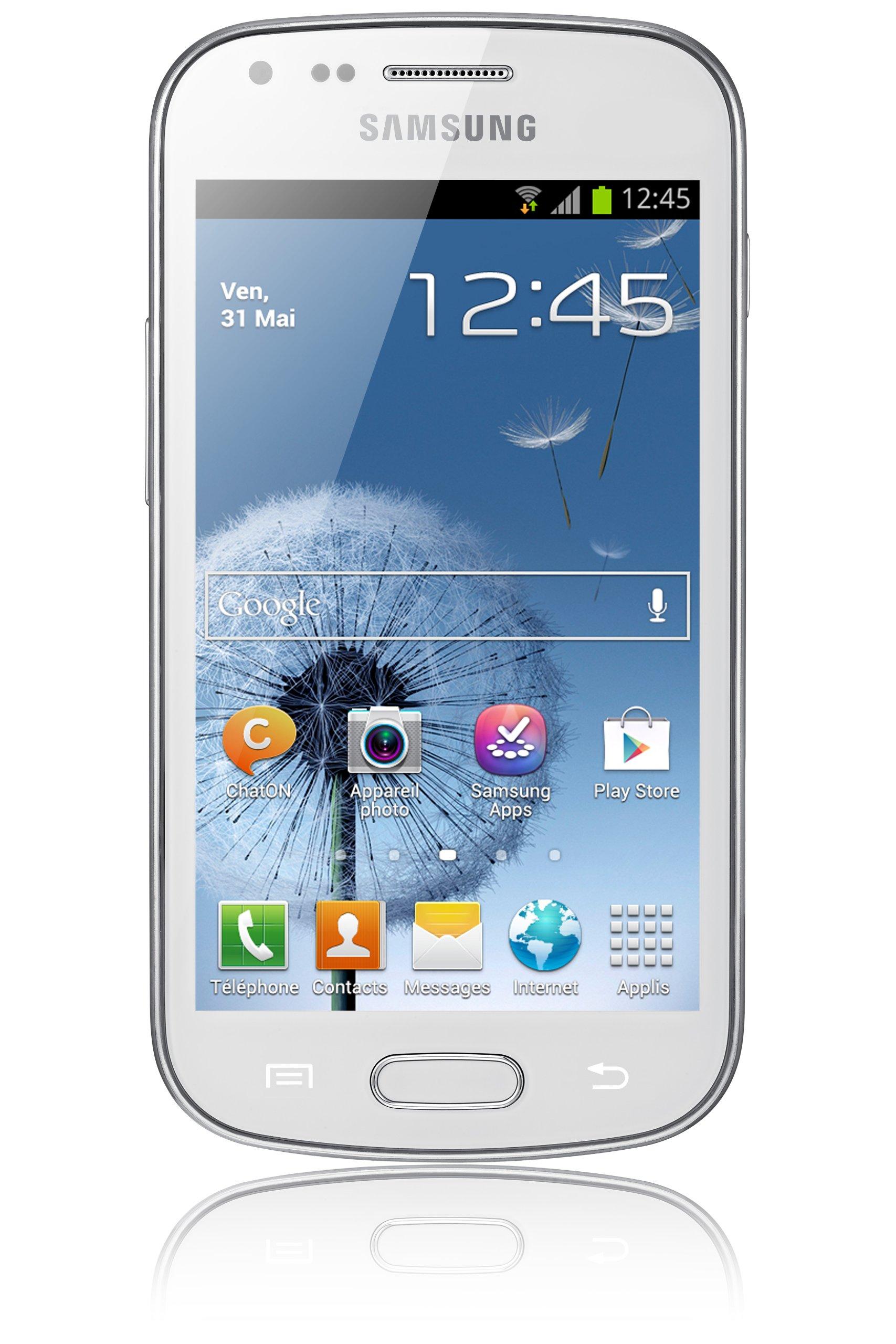 Samsung Galaxy Trend S7560 - Smartphone libre Android (pantalla 4
