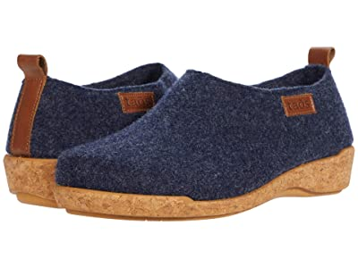 Taos Footwear Wonderwool (Navy) Women