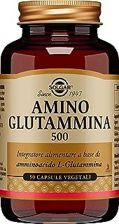 Solgar – L-Glutamine 500 mg, 50 Vegetable Capsules