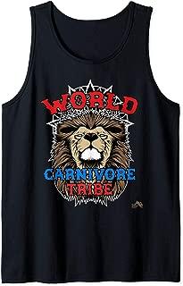 World Carnivore Tribe Lion Tank Top