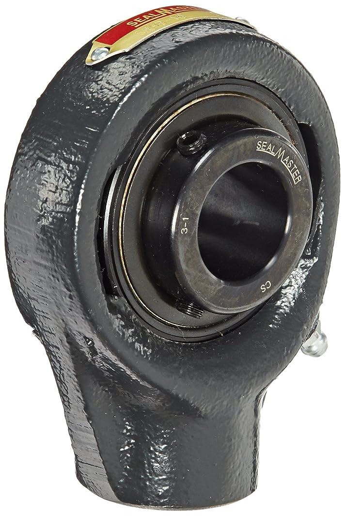 Sealmaster SEHB-16 Eccentric Drive Type Hanger Bearing, Setscrew Locking Collar, Felt Seals, 1