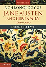 A Chronology of Jane Austen and her Family: 1600–2000