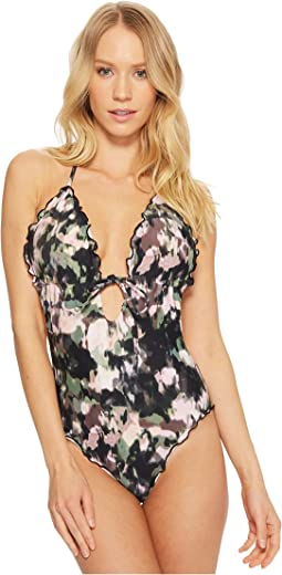 Lucky Brand Smokescreen One-Piece