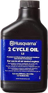 Husqvarna 610000156 50:1 Low Smoke 2-Cycle Oil 2-1/2-Gallon Mix, 6.4-Ounce