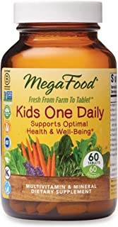 MegaFood, Kids One Daily, Daily Multivitamin and Mineral Dietary Supplement with..