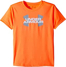 Under Armour Kids Linear Big Logo Short Sleeve Tee (Little Kids/Big Kids)