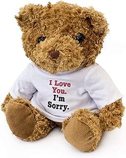 New - I Love You, I'm Sorry - Teddy Bear - Cute Cuddly Soft - Gift Present Apology