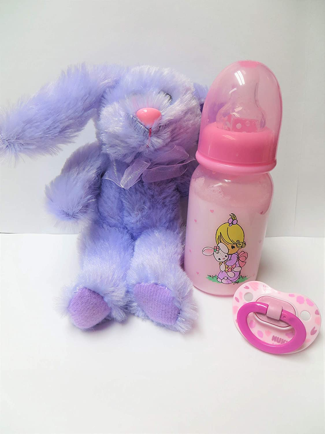 Reborn Doll Bottle Bunny Limited price sale + Colors Las Vegas Mall Plus Coordin Pacifier Vary