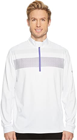 Callaway - 1/4 Zip Mock Neck Fashion Knit Pullover