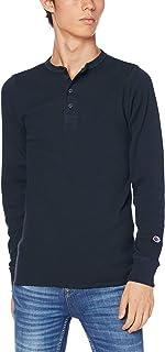 [チャンピオン] ヘンリーネックロングスリーブTシャツ C3-Q406 メンズ