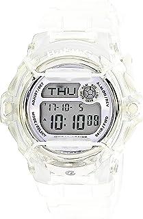 Casio Baby-G BG169R-7E Semi-Transparent Women's Sports Watch (Purple/Clear)