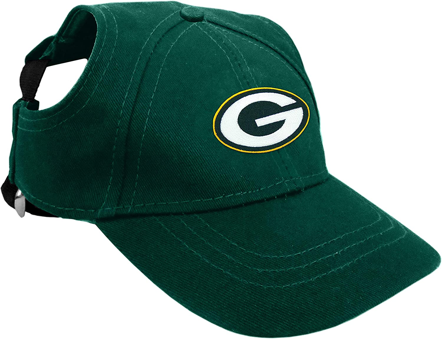Littlearth NFL Unisex Pet Baseball Hat - and Holes Max 48% OFF for New York Mall Ears