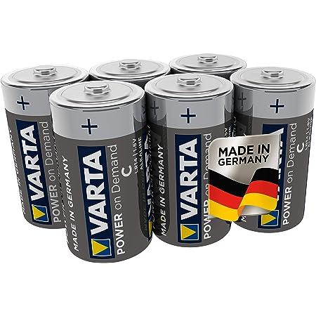Varta High Energy Lr14 Baby C Battery 1 5 V Elektronik