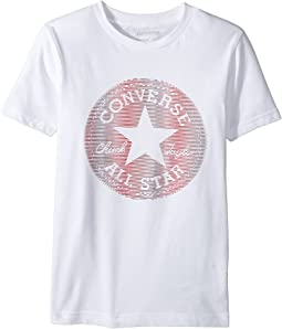 Converse Kids - Lenticular Chuck Patch Tee (Big Kids)