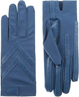 Isotoner Short Tech Touch Driving Gloves, Admiral Blue, Large/Extra Large
