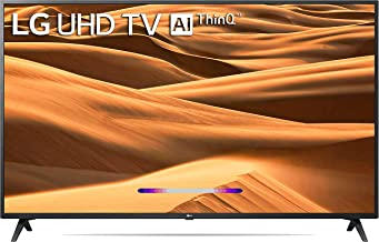 LG 139 cm (55 inches) 4K UHD Smart LED TV 55UM7300PTA (Ceramic BK + Dark Steel Silver) (2019 Model)