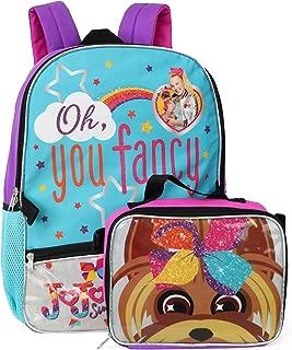 Nickelodeon Jojo Siwa Backpack Lunchbag Set (Fancy/BowBow)