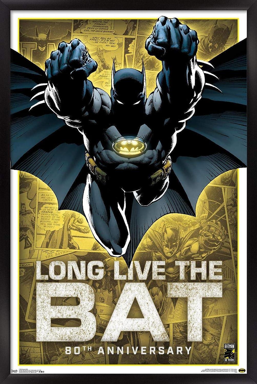 Inexpensive Trends International DC Comics-Batman-80th Anniversary Wall Post Elegant