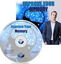 Improve Your Memory Self Hypnosis CD / MP3 and APP (3 IN 1 PURCHASE!) - Hypnotherapy CD to Enhance Memory to Remember Names Better and Improve Memory Recall