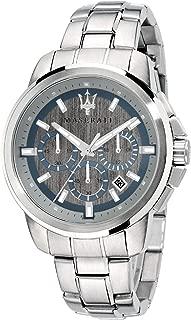 Maserati Men's Chronograph Quartz Watch, Silver - R8873621006
