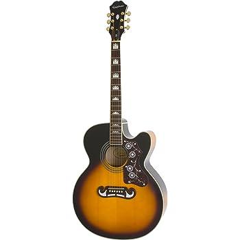 Epiphone EJ-200SCE Acoustic/Electric Guitar (Vintage Sunburst)