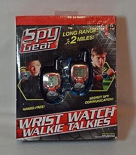Spy Gear Long Range Wrist Watch Walkie Talkies