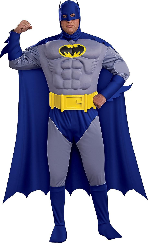 Batman Deluxe Kostüm für Erwachsene - Gre XL-XXL
