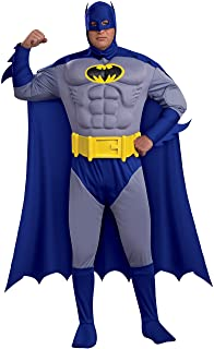 Rubie`s Men`s Bold and The Brave, Muscle Chest Batman, Adult Plus Size