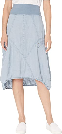 Wearables Mini Skirt in Linen