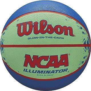 Wilson NCAA Illuminator Glow in The Dark Basketball, 28.5