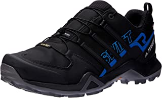 adidas, Terrex Swift R2 GTX Hikings Shoes, Men's Shoes, Black/Black/Bright Blue, 7.5 US