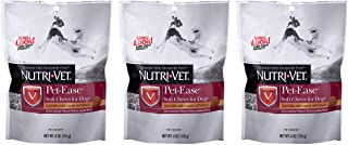 Nutri-Vet 3 Pack of Pet-Ease Soft Chews for Dogs, 70 Count Each, Soothes and Calms Naturally