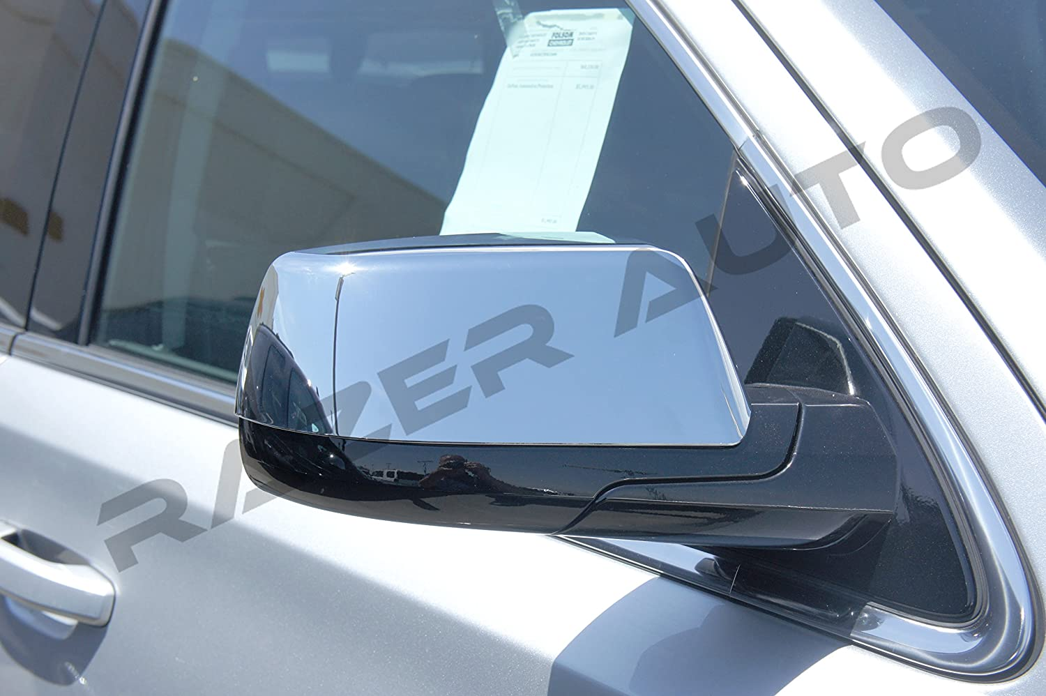 Razer Indefinitely Auto Triple Chrome Plated Mirror 2015-2016 Cover for Sale Chevy
