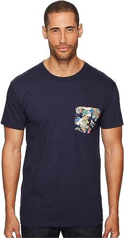 Naked & Famous - Flower Festival Print Pocket T-Shirt