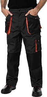 Pantalon de Travail Homme, avec des Poches Genouillere. Pantalon Travail Homme, Vetement Travail, Multi Poches, Grande Tai...