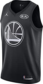 501175df73de Jordan Brand Kevin Durant Golden State Warriors Black Swingman 2018 All-Star  Game Jersey -