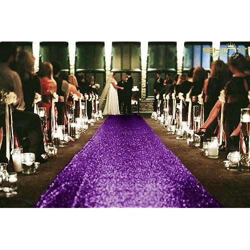Wedding Aisle Decor.Purple Wedding Aisle Decor Amazon Com