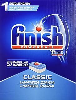 Finish 經典洗碗機-標簽常規 57 意大利面玻璃,5件裝