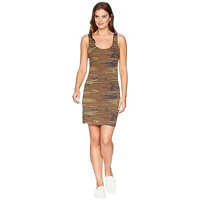 Alternative Eco Jersey Printed Tank Dress (Camo) Women