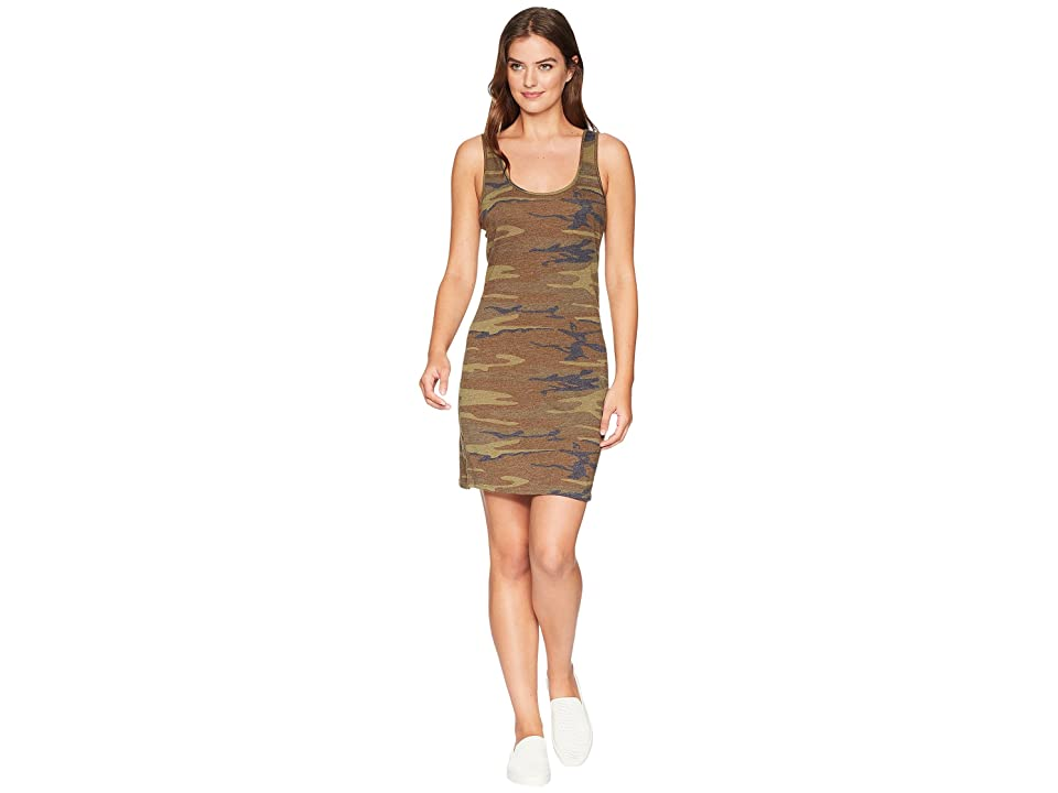 Alternative Eco Jersey Printed Tank Dress (Camo) Women