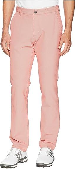 adidas Golf Ultimate Twill Pinstripe Pants