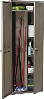 Gensini 5730.00.A1233 - Mueble Alto para Escoba marrón 65 x 45 x 172 cm