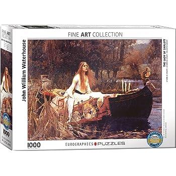 Eurographics Puzzle 1000 Pezzi Puzzle-La Belle Dame Sans Merci EG60000147