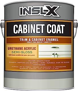 INSL-X CC560109A-01 Cabinet Coat Enamel, Semi-Gloss Paint, 1 Gallon, White