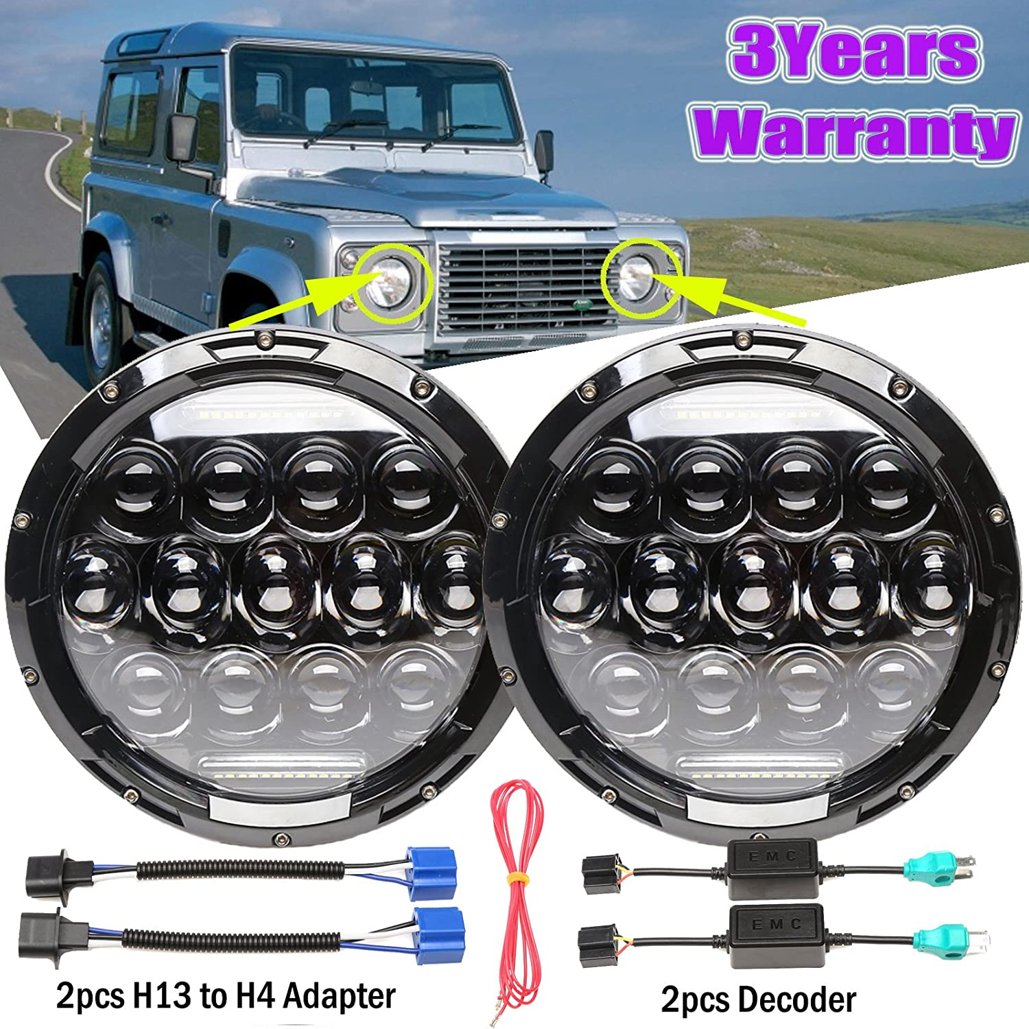 2018 Newest Designed Sealed Beam LED Round Special price 7'' L For Headlights latest