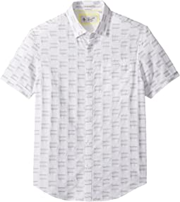 Short Sleeve 8-Bit Dobby Shirt