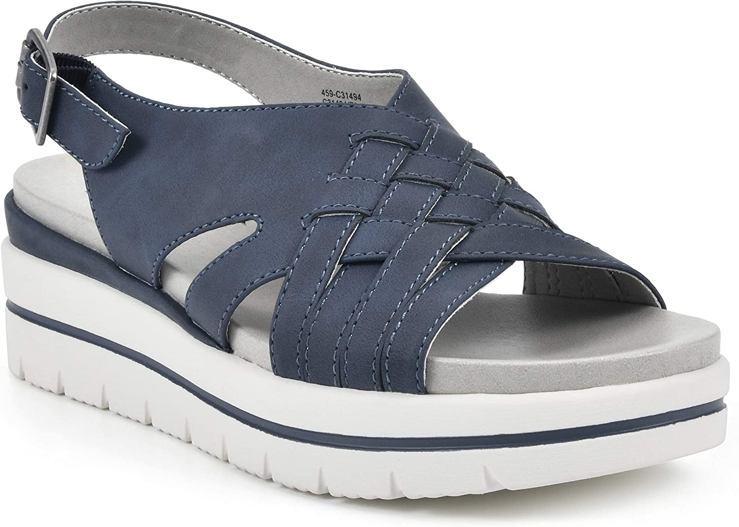 CLIFFS BY WHITE Over item handling MOUNTAIN Platform National products Sandal Women's Toleen
