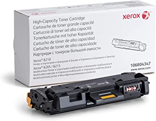 Xerox B205/ B210/ B215 Black High Capacity Toner Cartridge (3,000 Pages) - 106R04347
